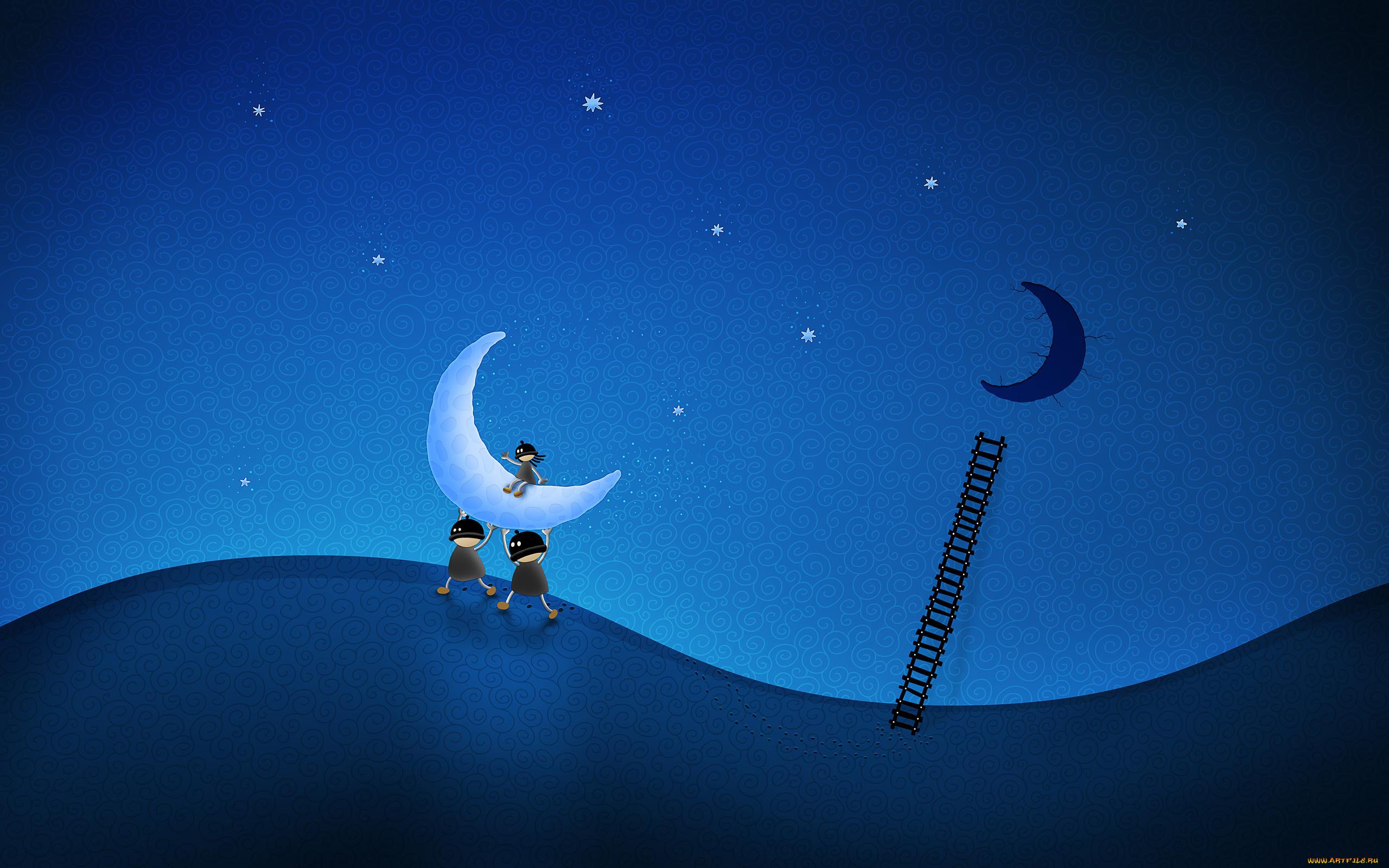 Спокойной ночи картинки на рабочий стол